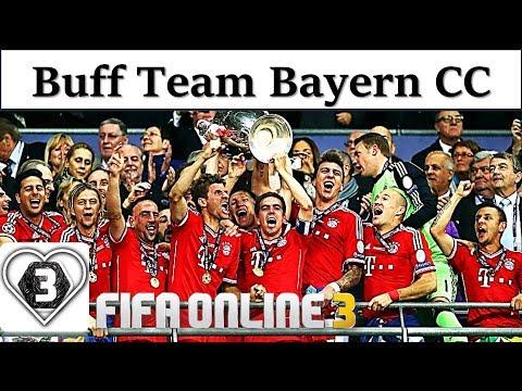 I Love FO3   Xây Dựng Đội Hình Team Color BAYERN MUNICH CC Fifa Online 3: Hoàng Đế & Dàn Hùm Xám CC