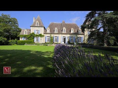 Chateau for sale near Bergerac, Dordogne France - set in stunning parkland.Maxwell Baynes:4217351
