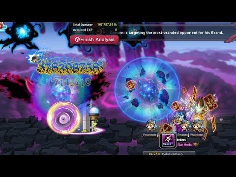 MapleStory Phantom 5th Job End Game Bossing