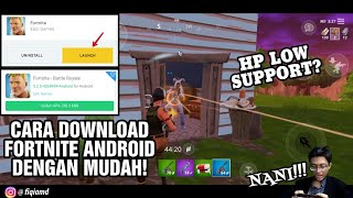 How to Download Fortnite Mobile on Android! COMPLETE & AND SPECIFICATIONS