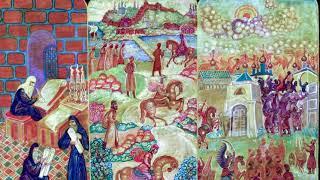 Картина «Патриарх Гермоген рассылает грамоты по городам России»