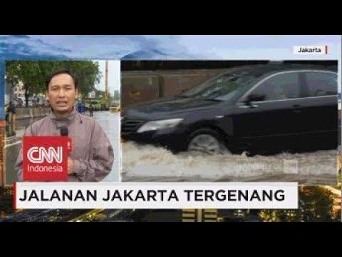 Drainase Tersumbat Penyebab Jalan Jakarta Tergenang Air