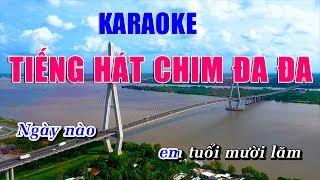 Tiếng Hát Chim Đa Đa Karaoke Nhạc Sống Rumba - Hoàng Dũng Karaoke