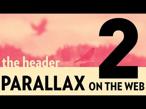 Parallax On The Web (Part 2) – Parallax Header