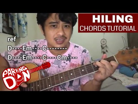 Hiling chords - easy guitar tutorial - Jake Zyrus version