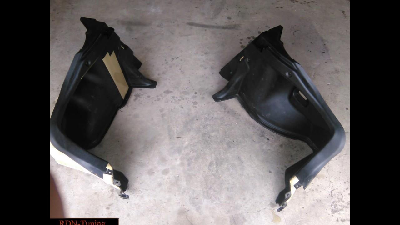 Mazda 323F - Ремонт и изготовление порогов и бамперов. Изготовление и установка сабвуфер.