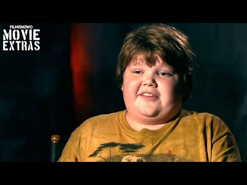 IT | On-set visit with Jeremy Ray Taylor 'Ben Hanscom'