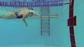 Ilaria Bianchi - Virata a stile libero, vista subacquea