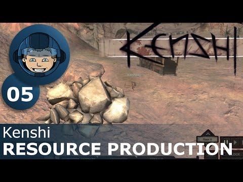 RESOURCE PRODUCTION - Kenshi: Ep. #5 - Kenshi Sandbox RPG Gameplay Walkthrough