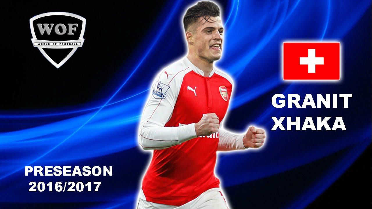 GRANIT XHAKA Arsenal Skills