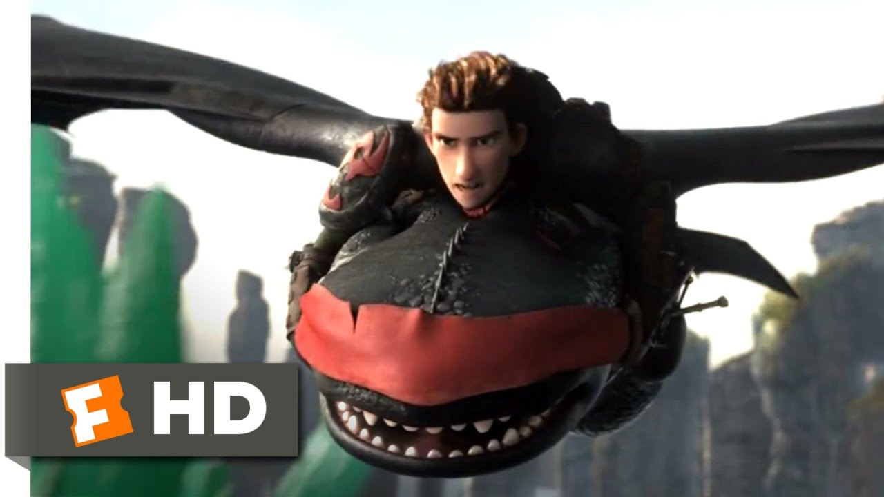 Download How to Train Your Dragon 2 - Rescuing Toothless Scene | Fandango Family