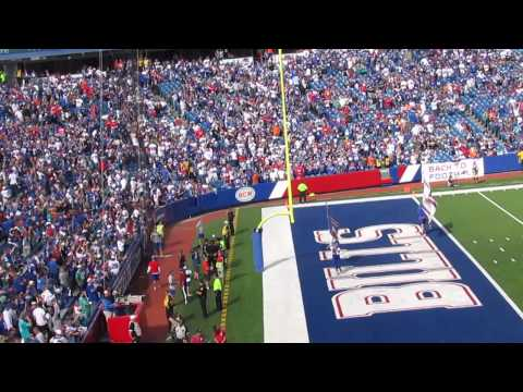 "Buffalo Bills FG to go up 29-10 on Miami Dolphins, Sept. 14, 2014, ""SHOUT"" Song!"