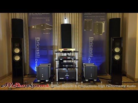 Bricasti Ltd  Edition Gold M1 DAC, M28 Monoblocks, Tidal loudspeakers, great sound, RMAF