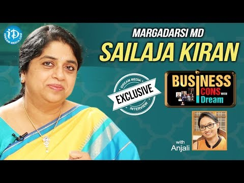 Margadarsi MD Sailaja Kiran Exclusive Interview || Business Icons With iDream | #519