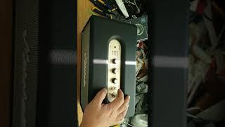 마샬 스탠모어 앰프칩 교체,DC컨버팅 칩 교체