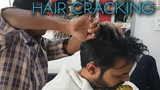 Hair and Neck Cracking Head Massage by Master Cracker