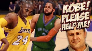 NBA 2K14 Next Gen MyCareer - Begging Kobe To Talk To The Lakers! Trade Reveal, My New Team Is ...