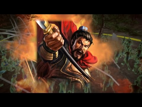 Romance of the Three Kingdoms 13 PUK - Wei Yan is a monster - 11000 vs over 50000