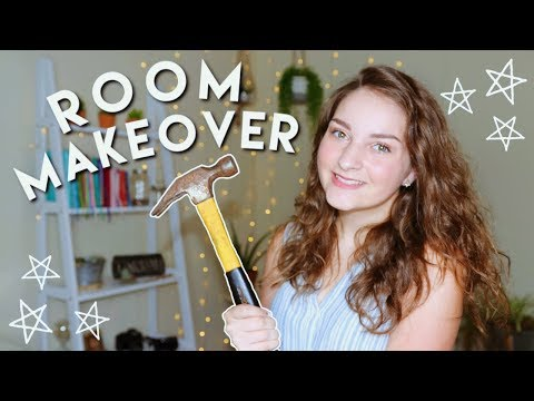 Aesthetic + Boho Room Makeover/transformation 2019 ✩