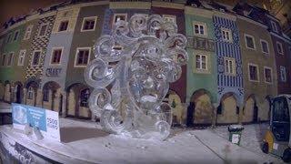 The 7 th Poznań International Ice Sculpture Festival / VII Festiwal Rzeźby Lodowej 2012 w Poznaniu