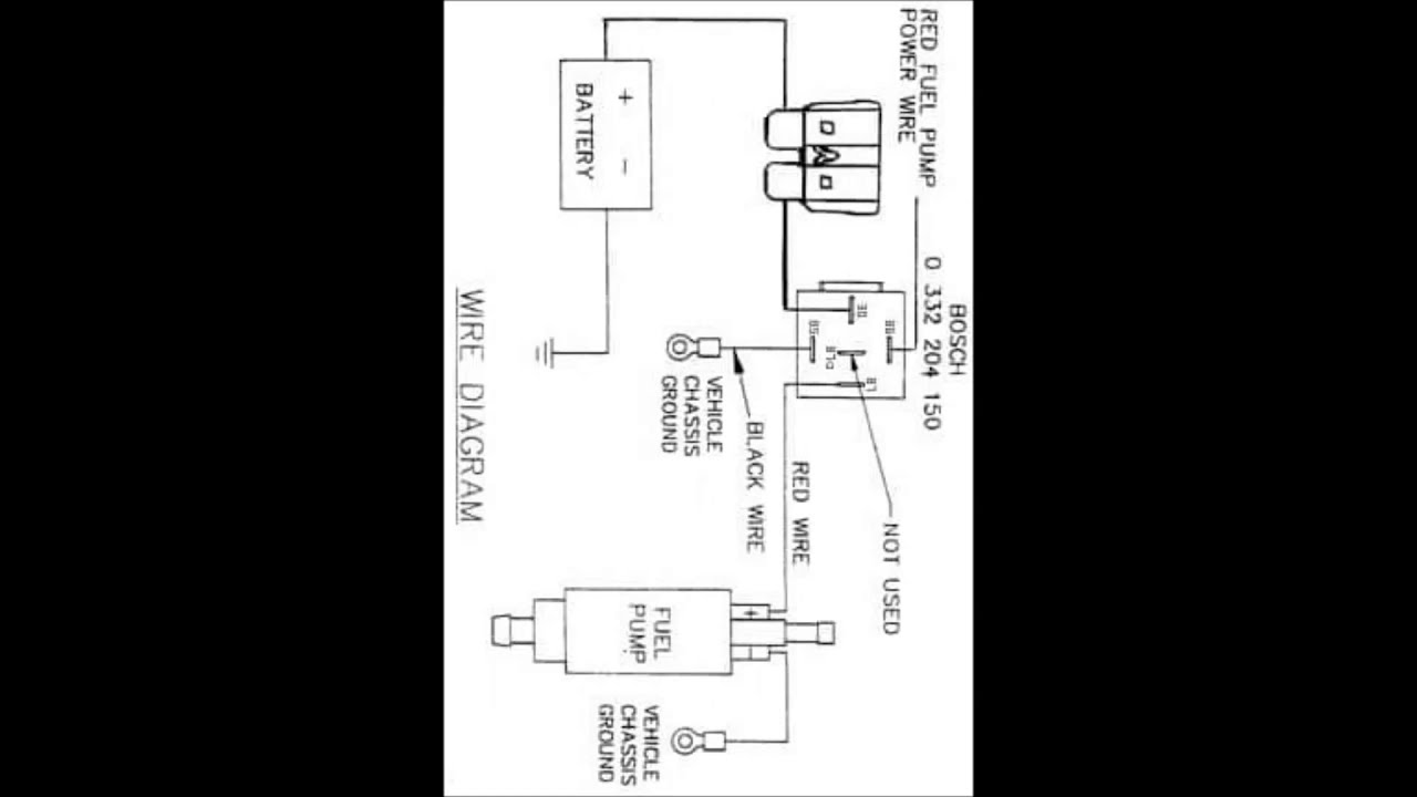 Wiring Diagram Fuel Pump With Relay