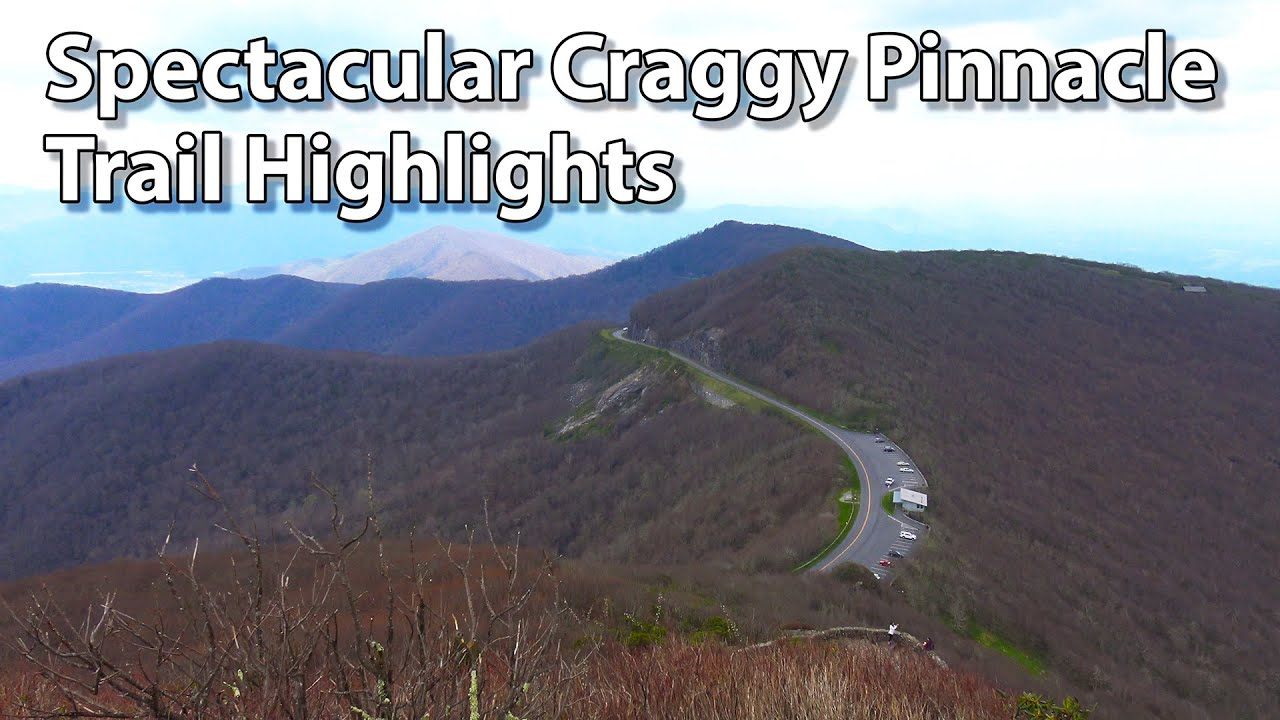 Beautiful Blue Ridge Parkway Craggy Pinnacle Trail Hi Doovi