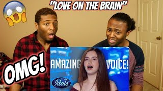 """Mara Justine Auditions for Idol With Rihanna's """"Love On The Brain"""" - American Idol 2018 (REACTION)"""