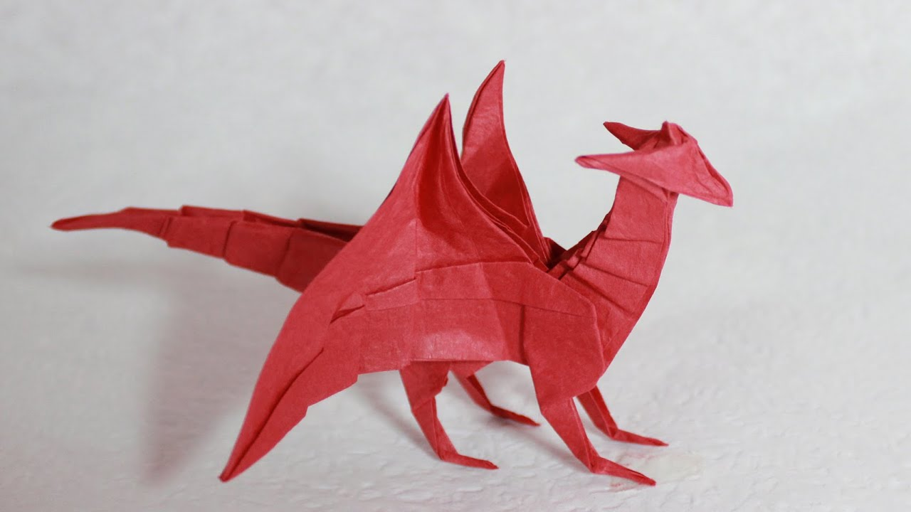 Origami Dragon 40 Tutorial