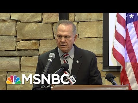 What Do The Roy Moore Allegations Say About GOP? | Velshi & Ruhle | MSNBC
