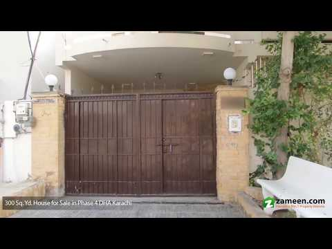 HOUSE FOR SALE IN PHASE 4 DHA DEFENCE KARACHI