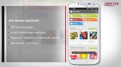 Android APK-Datei installieren - Praxis-Tipp deutsch   CHIP