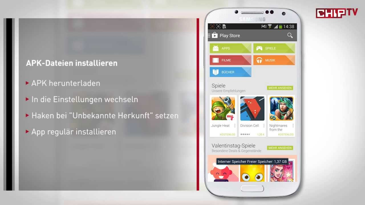 Android Apk Installieren
