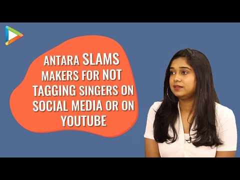 """""""You have to be Either Arijit Singh Or Shreya Ghoshal to be Tagged is a WRONG thing"""": Antara Mitra"""