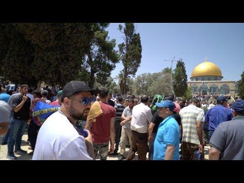 Moslims Beschermen Kerk In Jeruzalem, Al Quds!