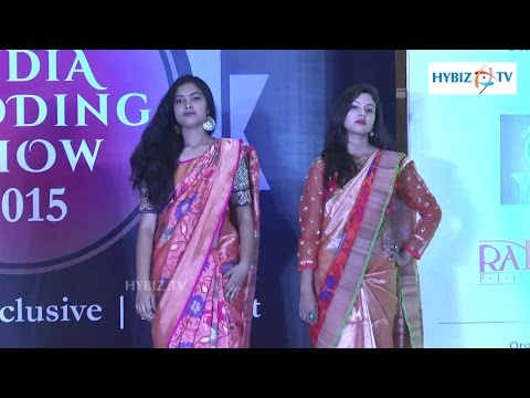 Beautiful Models at Indian Wedding Fashion show 2015 Hyderabad