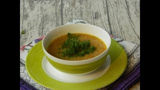 Суп пюре из курицы без картошки