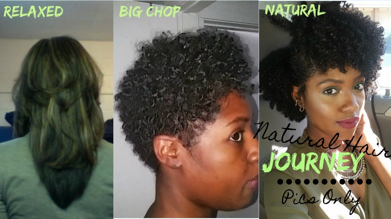 natural hair journey withbig chop
