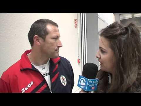 Jesús Estrella, alcalde de Andújar inaugura el Pabellón Municipal de Deportes La Paz.wmv