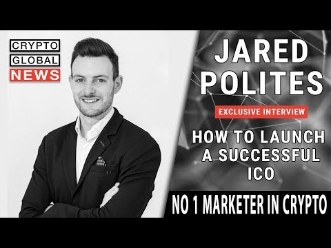 How launch a successful ICO with Jared Polites.