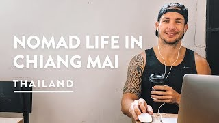 A DAY IN THE LIFE - CHIANG MAI DIGITAL NOMAD | Thailand Travel Vlog 123, 2018 | Chiangmai