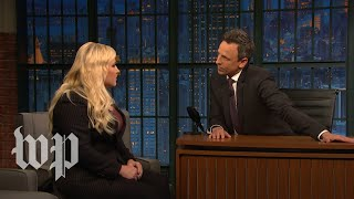 'Are you her publicist?': Meghan McCain gets tense discussing Rep. Ilhan Omar with Seth Meyers