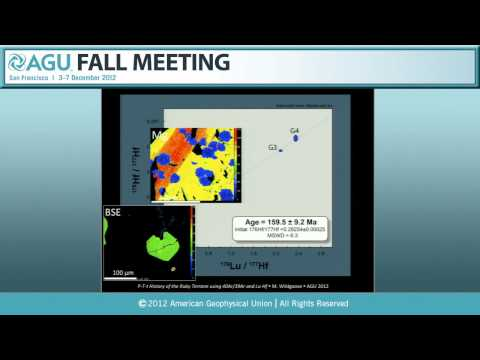 V41D.* The Geophysics and Geochemistry of Terrestrial Environments - 2012 AGU Fall Meeting