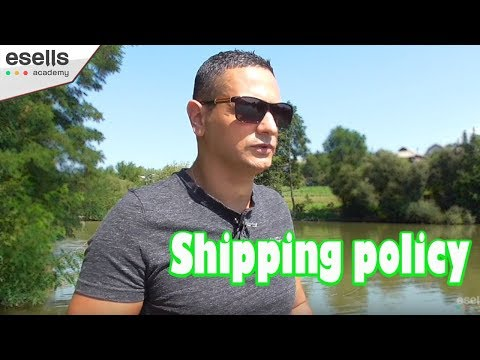 Shipping policy - وأهميتها بالتجارة الالكترونية