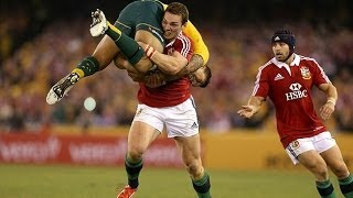 George North picks up Israel Folau
