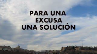 No busques excusas en el deporte, pon soluciones.