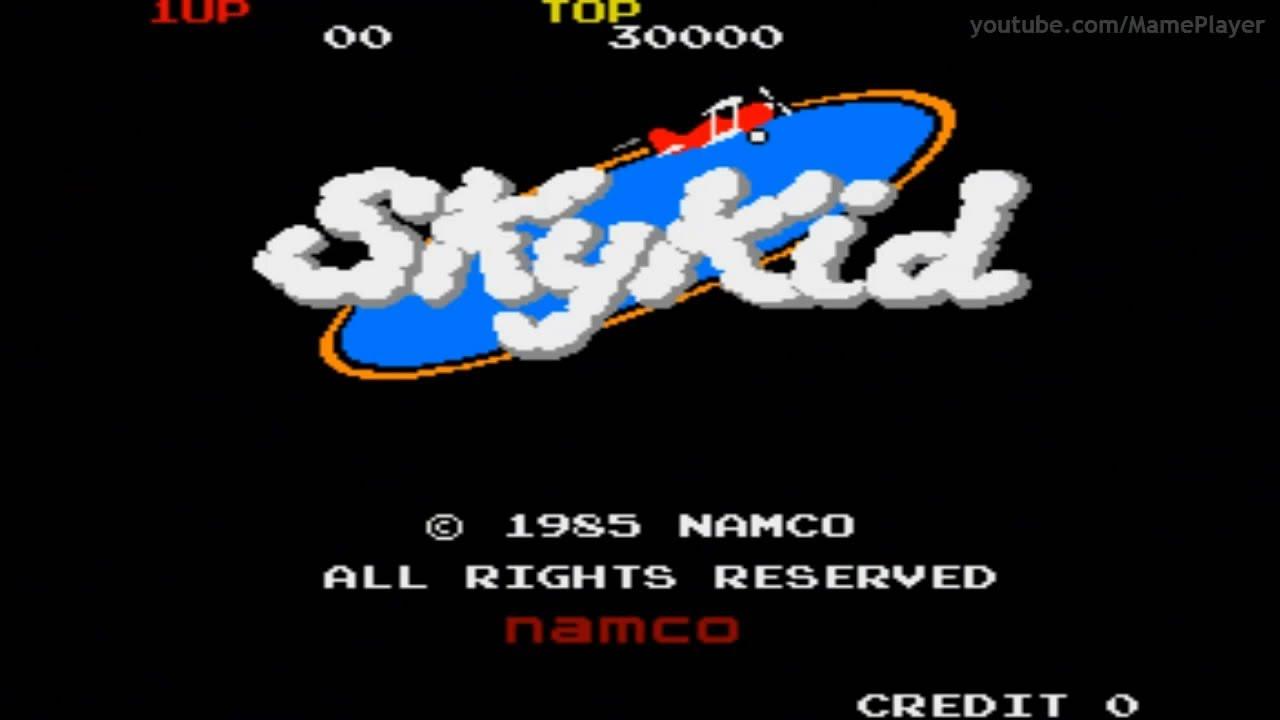 Sky Kid 1985 Namco Mame Retro Arcade Games