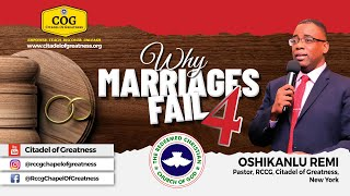 Why Marriages Fail 4   Remi Oshikanlu   14th March 2021