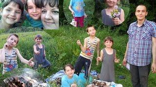 Жарим вместе шашлык, нас пятеро и МЫ СЧАСТЛИВЫ! История усыновления троих детей, Украина, Харьков