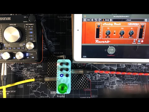 Mooer E7 Polyphonic Guitar Synth Micro Pedal - Live Tutorial & Demo