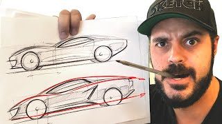 cars drawing lesson
